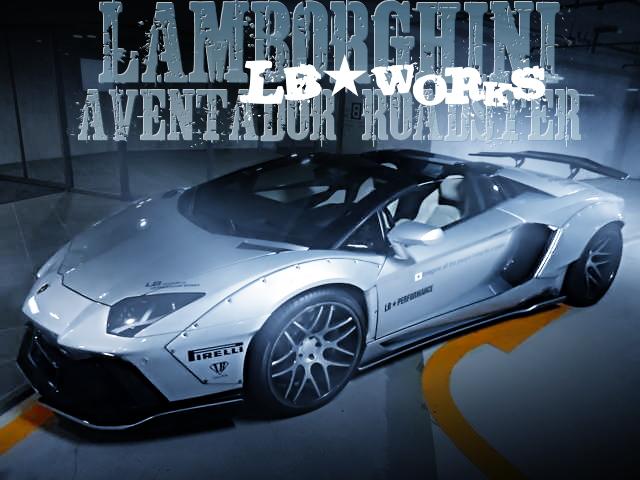 LB-WORKSワイドボディ仕上げ!ランボルギーニ・アヴェンタドール・ロードスターLP700-4の国内中古車を掲載