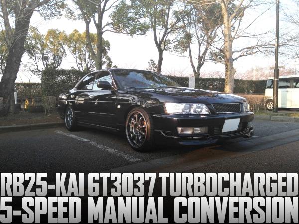 RB25改GT3037ビッグタービンPOWER-FC現車セッティング!5速MT公認!C35日産ローレルの国内中古車を掲載