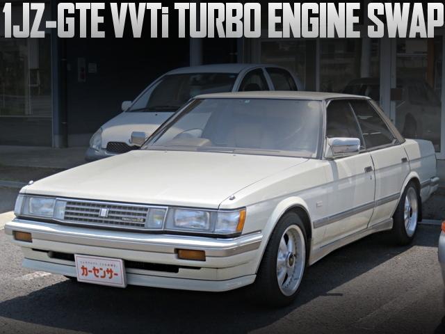 17クラウンアスリート流用!1JZ-GTE型VVTiターボエンジン、AT、ECU移植!特別モデルGX71型マーク2グランデリミテッドの国内中古車を掲載