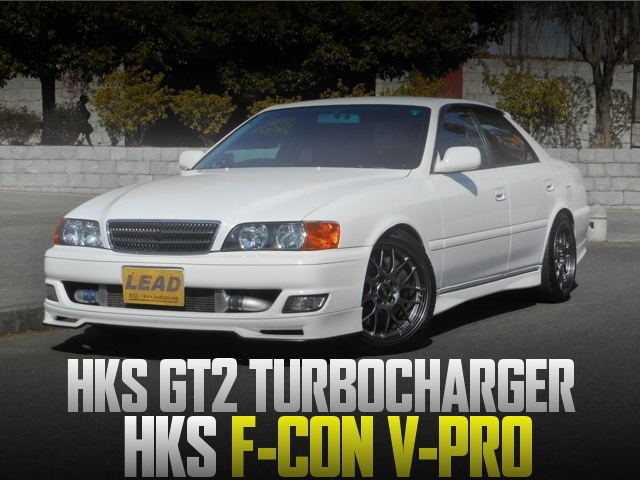1JZ改GT2タービンVプロ制御!LEXUSブレーキキャリパー!JZX100型チェイサー・ツアラーV・TRDスポーツの国内中古車を掲載