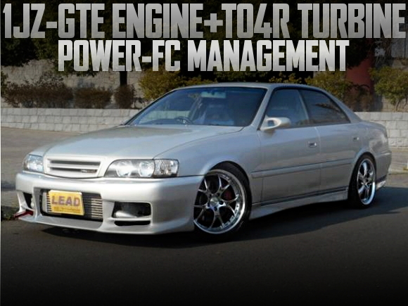 1JZエンジン改TO4RビッグタービンPOWER-FC制御!TRDブレーキキャリパー!の国内中古車を掲載