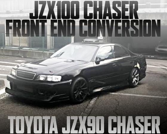 100系チェイサー顔面移植!JZX90型チェイサー・ツアラーVの国内中古車を掲載