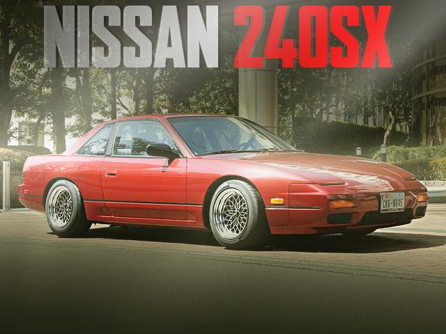 ノスタルジック2デイズ出展!米国テキサス州から逆輸入!S13モデル日産240SXの国内中古車を掲載