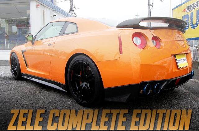 東京オートサロン出展!ZELEコンプリートエディション!R35日産GT-Rの国内中古車を掲載