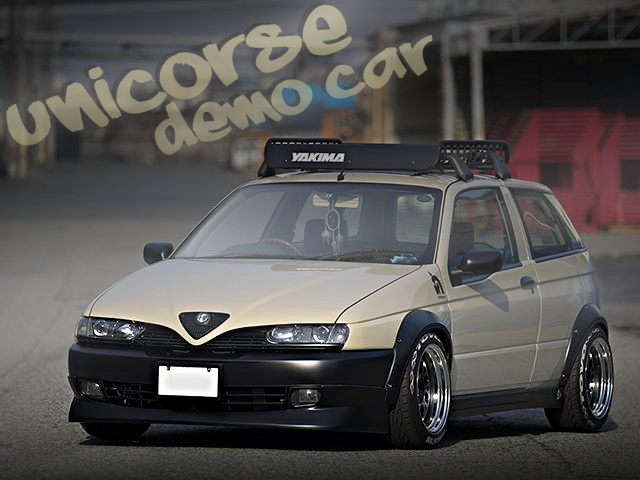 UNICORSEデモカー!「カリフォルニア+ウエストコースト」イメージ仕上げ!アルファロメオ145の国内中古車を掲載