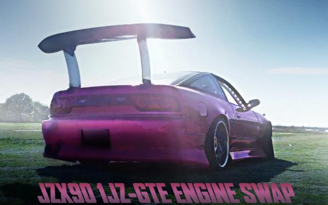 JZX90用1JZ-GTEエンジン改シングルタービン!HKS金プロ制御!RPS13日産180SX改シルエイティの国内中古車を掲載
