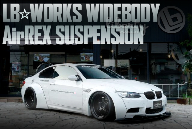 LB-WORKSワイドボディ!AirREXエアサス仕上げ!4代目E92型BMW M3クーペの国内中古車を掲載