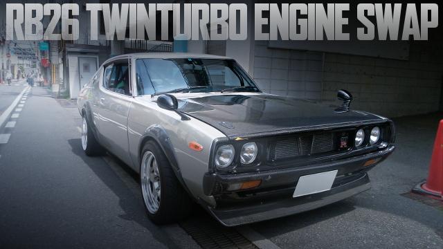 RB26DETTツインターボエンジン+5MT!HKS金プロ制御!GT-Rカーボン仕様!C111日産ケンメリの国内中古車を掲載