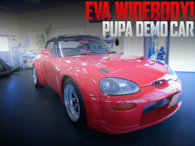 PUMAデモカー!EVAワイドボディ!モンスタースポーツF100Mタービン!スズキ・カプチーノの国内中古車を掲載