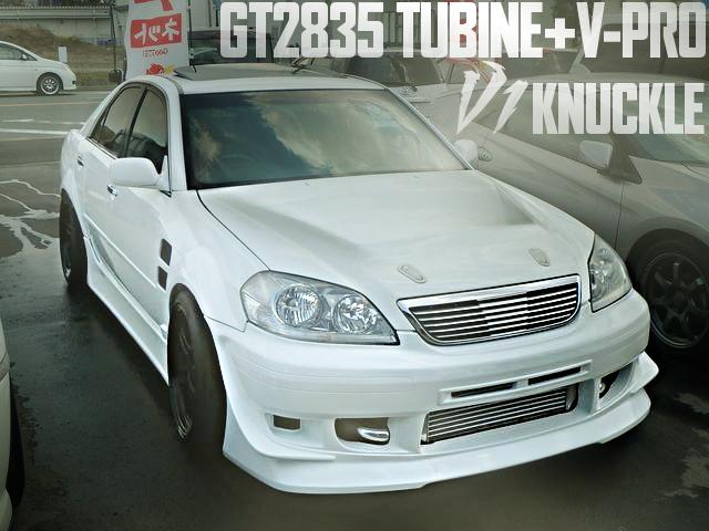 伊藤オートV1ナックル!1JZ改GT2835タービンVプロ制御!Kazamaオートワイドボディ!JZX110型トヨタ・マーク2・iR-Vの国内中古車を掲載