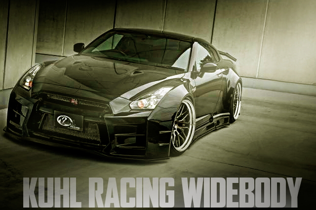KUHL-RACING新作ワイドボディキット+フェンダースムージング!改造費500万円+R35日産GT-Rの国内中古車を掲載