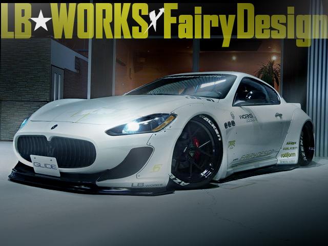 LB-WORKS×Fairy Designコラボレーション!マセラティ・グラントゥーリズモの国内中古車を掲載