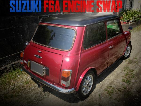 スズキF6Aシングルカムターボエンジン搭載!XN12A型クラシックMINIの国内中古車を掲載