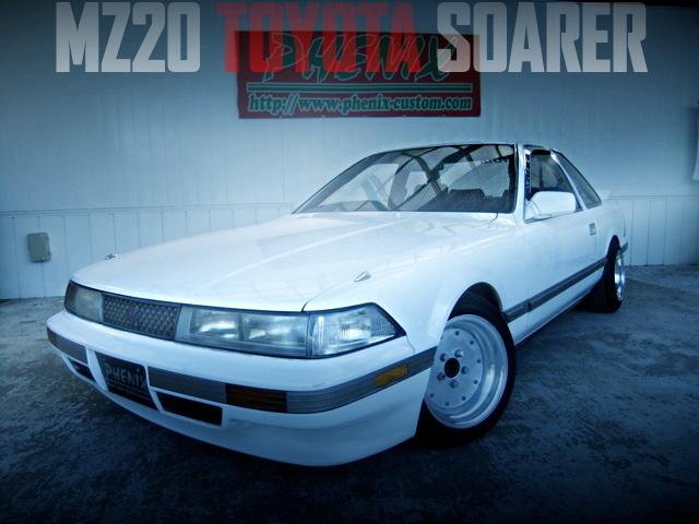街道レーサー仕上げ!スピードスターマーク1ホイール!板ッパネ!MZ20型トヨタ・ソアラ3.0GTの国内中古車を掲載