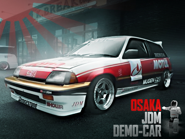 大阪JDMデモカー!なにわ友あれ「ブラディレーシング・ガズ」仕様「南勝久」先生サイン入!HONDAワンダーシビックSiの国内中古車を掲載