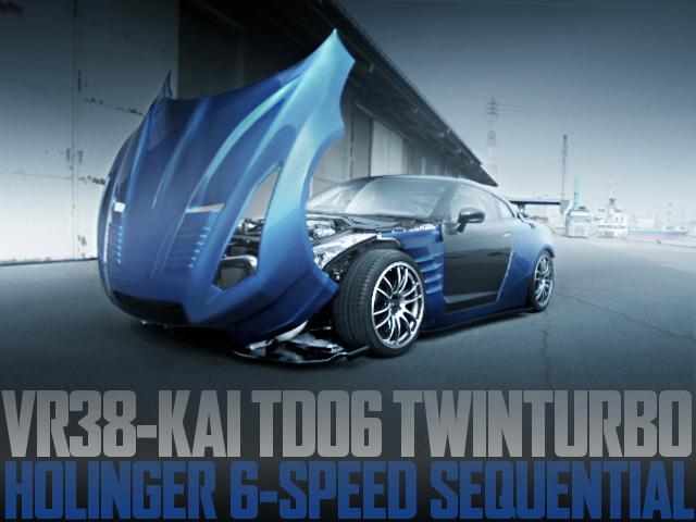 後輪駆動+シーケンシャル6速マニュアル!VR38改TD06ツインターボ!モーテック制御!R35日産GT-Rの国内中古車を掲載