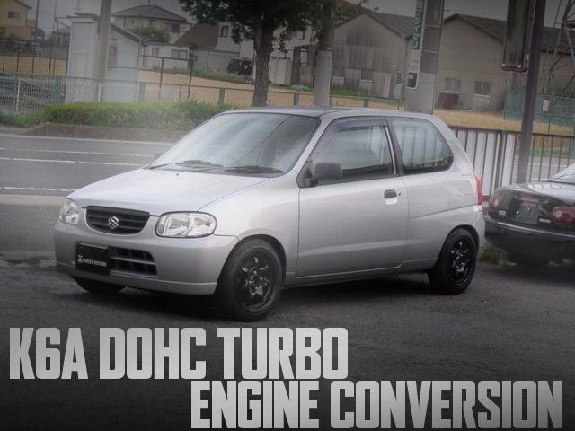 K6A型DOHCターボエンジン+ECU書き換え!5代目SUZUKIアルトバンVSの国内中古車を掲載