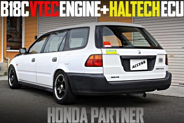 社畜最速バン!B18C型VTECエンジン+ハルテック現車!SPOONキャリパー!初代ホンダ・パートナーの国内中古車を掲載
