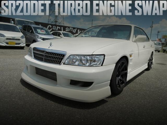 SR20ターボエンジン+SR20用5MTスワップ!C35日産ローレル・メダリストの国内中古車を掲載