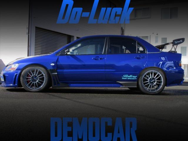Do-Luckデモカー!2010年ハイパーミーティング出展!ワイドボディ公認!CT9A三菱ランサーエボリューションIXの国内中古車を掲載