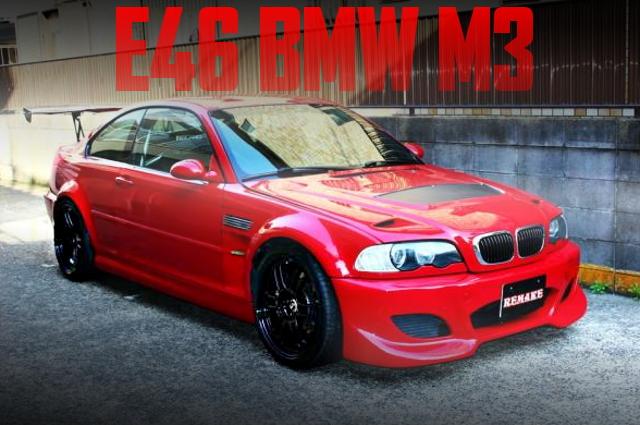 改造費200万円以上!2シーター公認!ロールバー!!GTウイング!E46型BMW・M3クーペの国内中古車を掲載