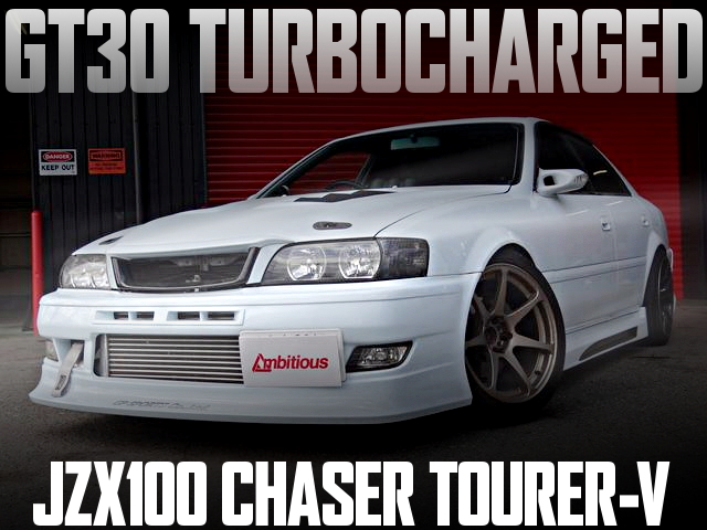 1JZ改GT30タービン+POWER-FC制御!JZX100型チェイサー・ツアラーVの国内中古車を掲載