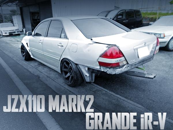 トランク開けで地球見える!リアサイドメンバーカット+フロアカット!切れ角UP!JZX110型マーク2グランデiRVの国内中古車を掲載