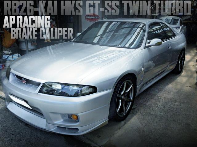 GT-SSタービン!シート革張り替え!APレーシング6POTキャリパー!BCNR33日産スカイラインGT-Rの国内中古車を掲載