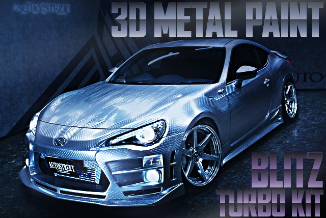 3Dメタルペイント!KUHL-RACINGエアロキット!BLITZタービン!トヨタ86の国内中古車を掲載