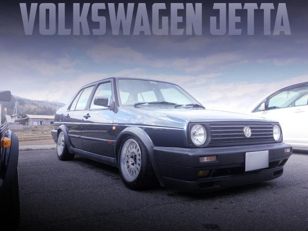 VWゴルフ顔仕上げ!2代目フォルクスワーゲン・ジェッタの国内中古車を掲載