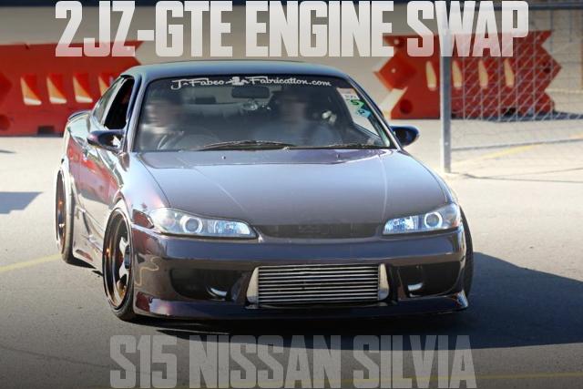 600馬力!2JZ-GTEエンジンスワップ+シングルタービン!ハルテック制御!S15日産シルビアのオーストラリア中古車を掲載