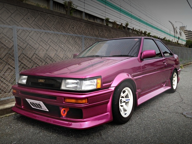 AE86 COROLLA LEVIN FRONT
