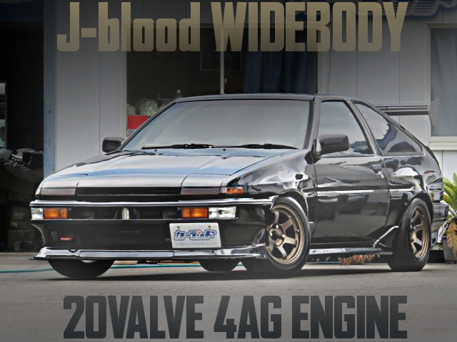 WIDEBODY AE86 TRUENO