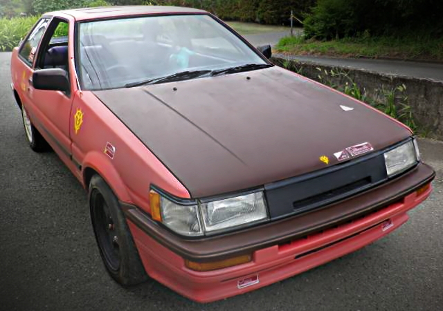 AE86 LEVIN FRONT