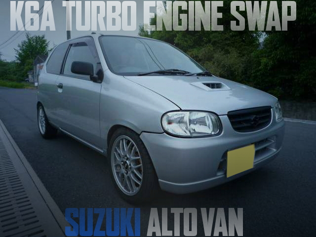 K6A TURBO ALTO VAN
