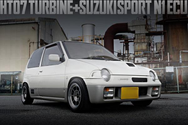 HT07タービン+スズキスポーツN1制御!ワゴンRスタビ!CS22S型SUZUKIアルトワークスRS-Xの国内中古車を掲載