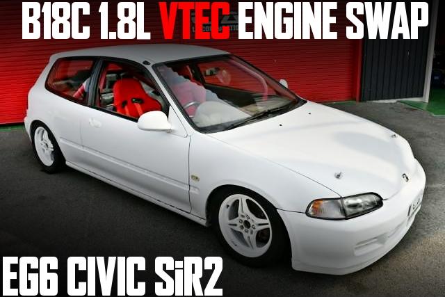 EG6 CIVIC SiR2 B18C VTEC