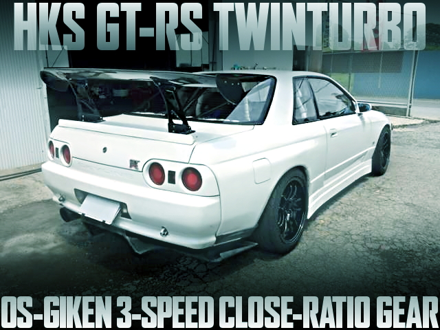 GT-RS TWIN BNR32 SKYLINE GT-R