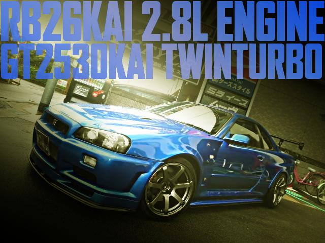 BNR34 SKYLINE GT-R VSPEC2