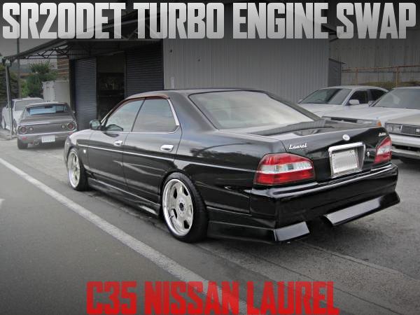 SR20DETターボエンジン+5速マニュアル公認!HC35日産ローレルメダリストの国内中古車を掲載