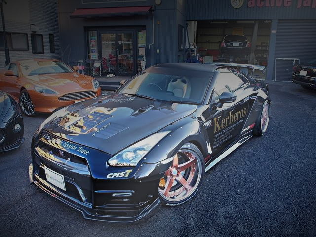 R35 GT-R FRONT EXTERIOR