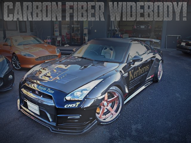 CARBON FIBER WIDEBODY GT-R