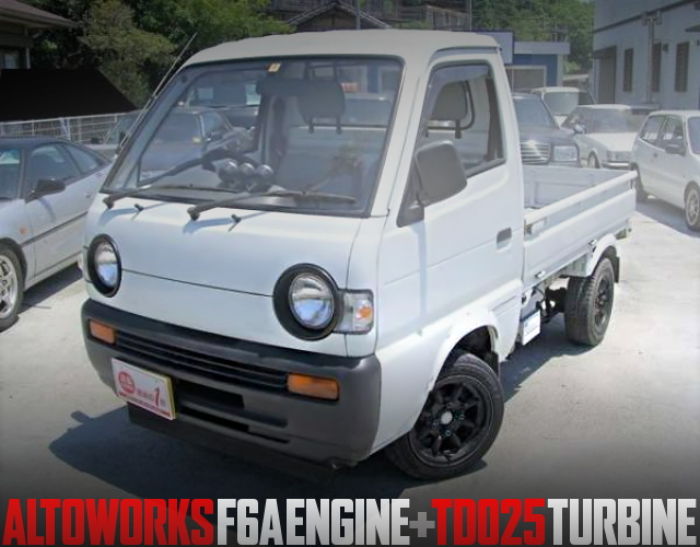F6A TURBO SUZUKI CARRY