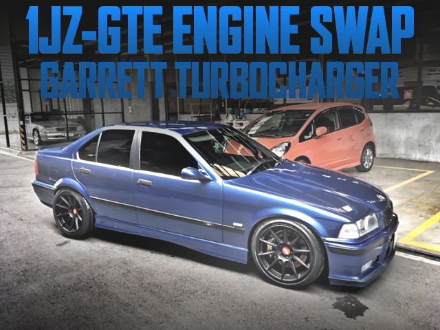 1JZ SWAP E36 BMW