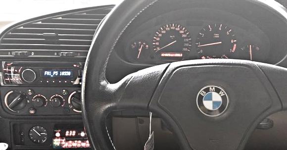E36 BMW INTERIOR