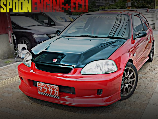 SPOON ENGINE EK9R