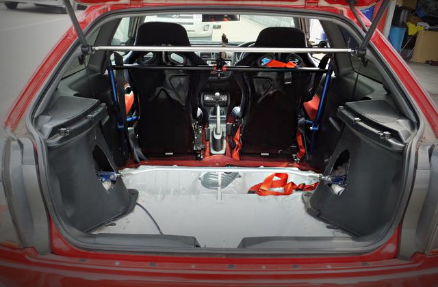 EK9R REAR TRUNK ROOM
