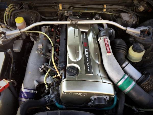 R34GTR RB26 ENGINE SWAP