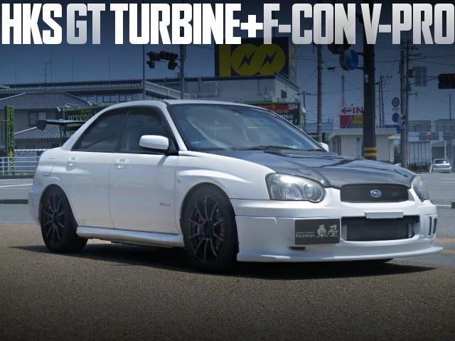 GT TURBINE GDB WRX STI