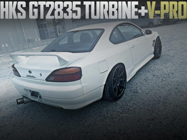 S15 SILVIA HKS GT2835